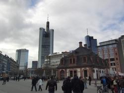 Alte und neue Gebäude